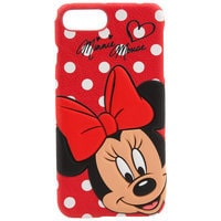 Image of Minnie Mouse Leather iPhone 7/6 Plus Case # 1