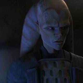 Cham and the Twi'lek Senator