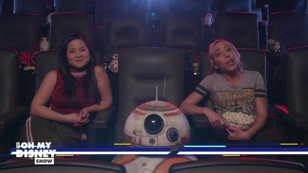 Watch Star Wars: The Last Jedi With Kelly Marie Tran and BB-8 | Oh My Disney Show by Oh My Disney