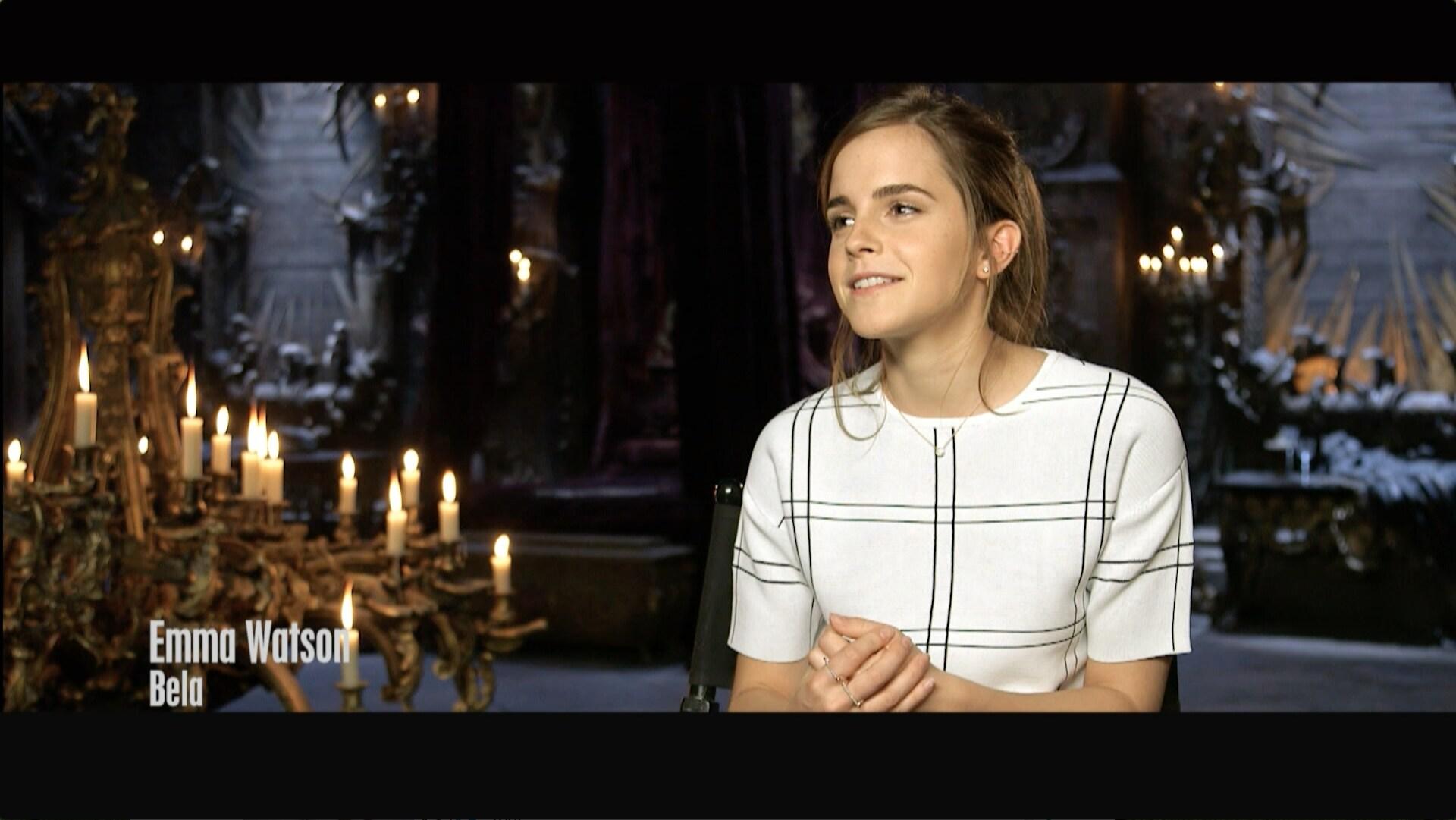 """Emma Watson e Dan Stevens são """"A Bela e a Fera"""" – Disney Planet"""
