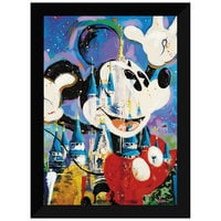 ''Mickey and Castle'' Giclée by Randy Noble