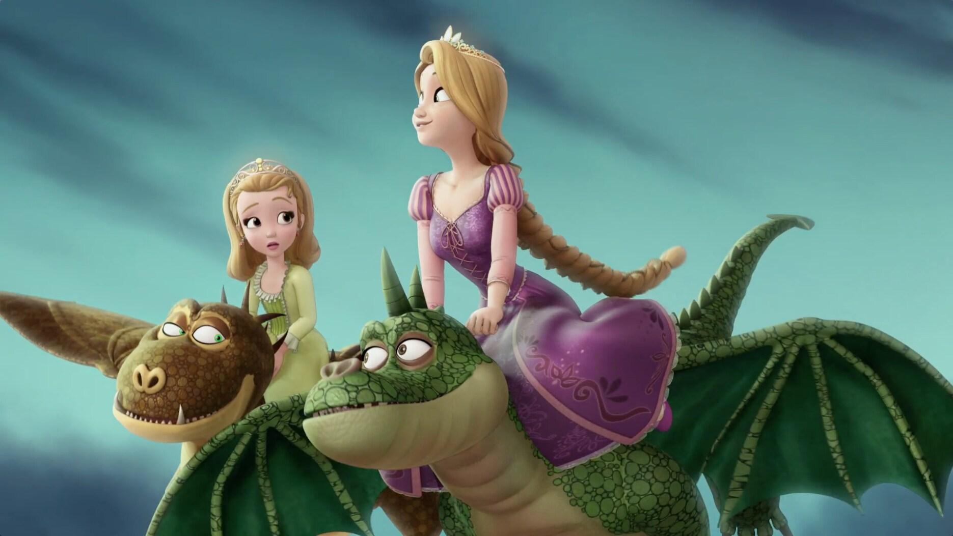 Todo arriesgarás - Princesita Sofía y Rapunzel - Soy una princesa
