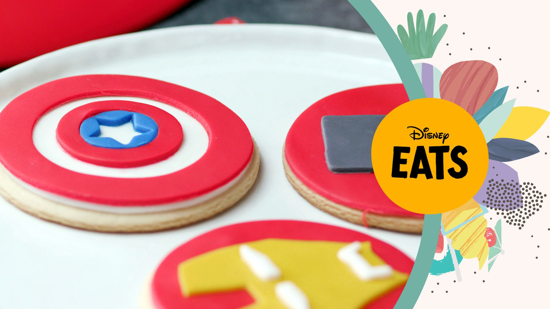Avengers Cookies | Disney Eats