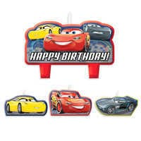 Image of Cars 3 Birthday Candle Set # 1