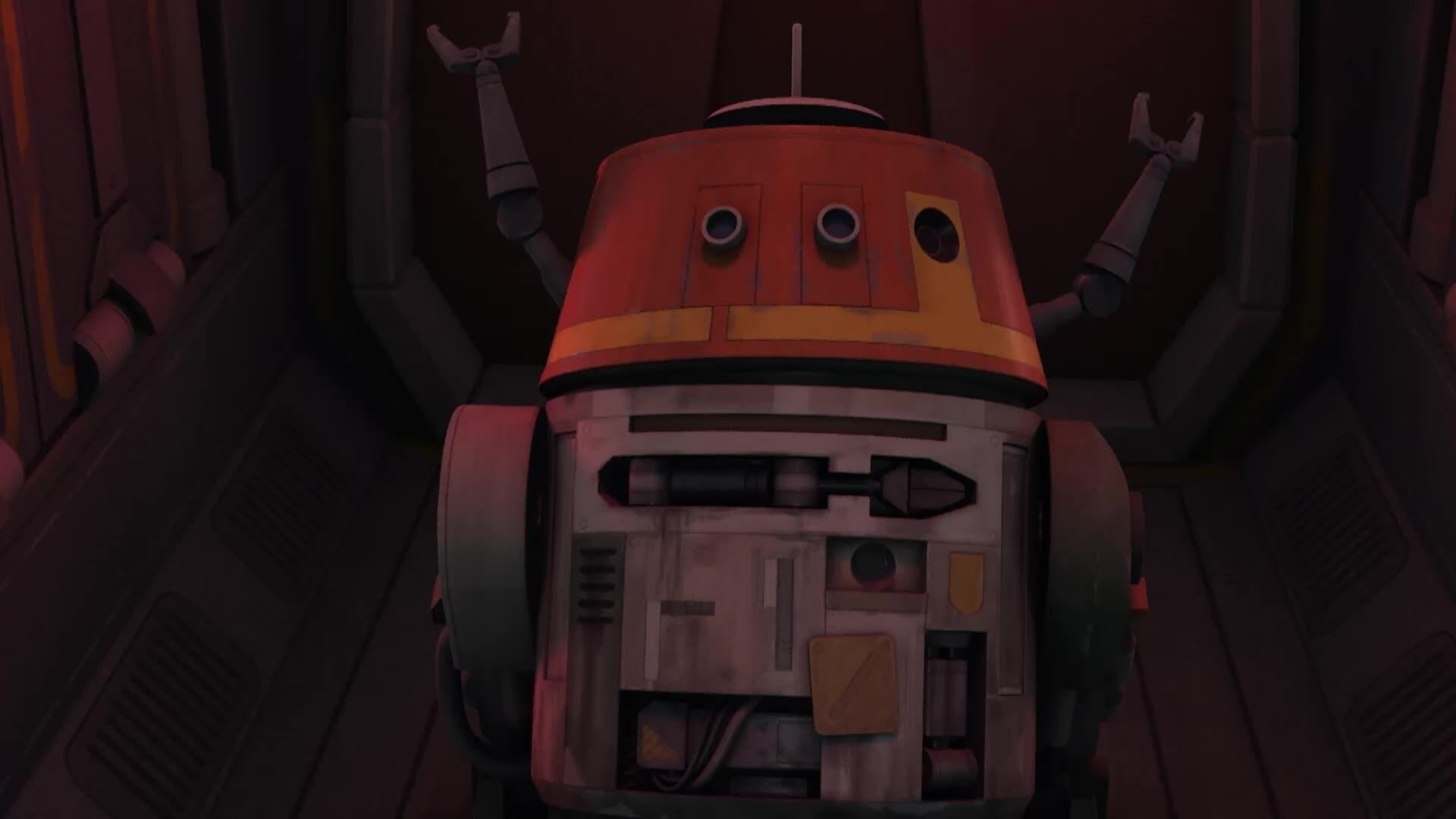 Star Wars Rebels - Gevaarlijke ontsnapping!