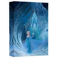 Image of Elsa ''Well Now They Know'' Giclée on Canvas by Lisa Keene # 1