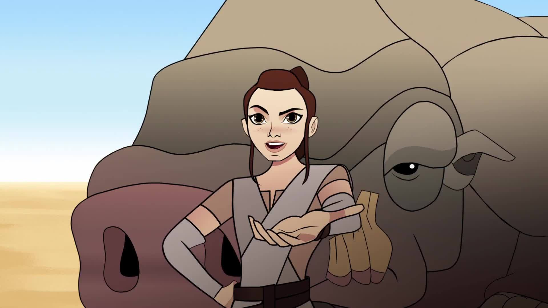Star Wars Forces of Destiny | The Happabore Hazard | Disney