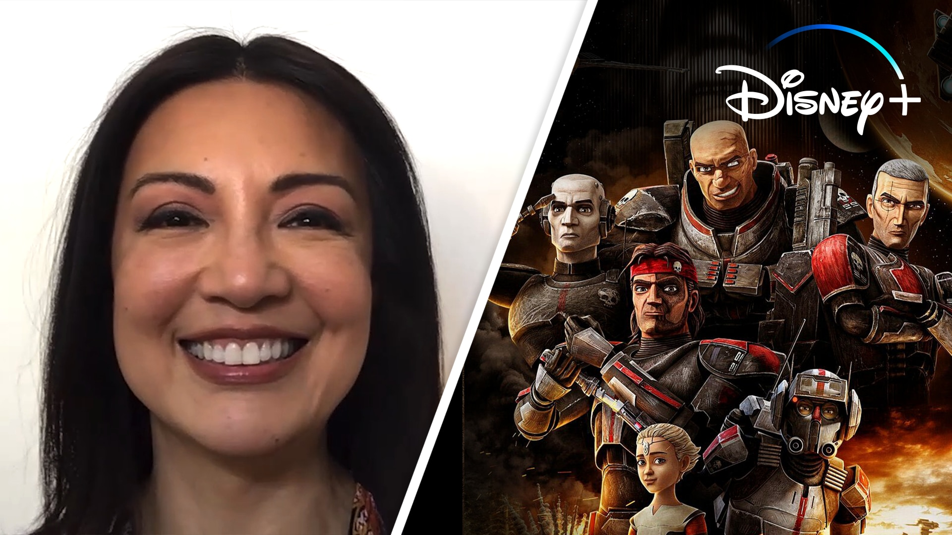 Ming-Na Wen Reacts to Star Wars: The Bad Batch Characters | Disney+