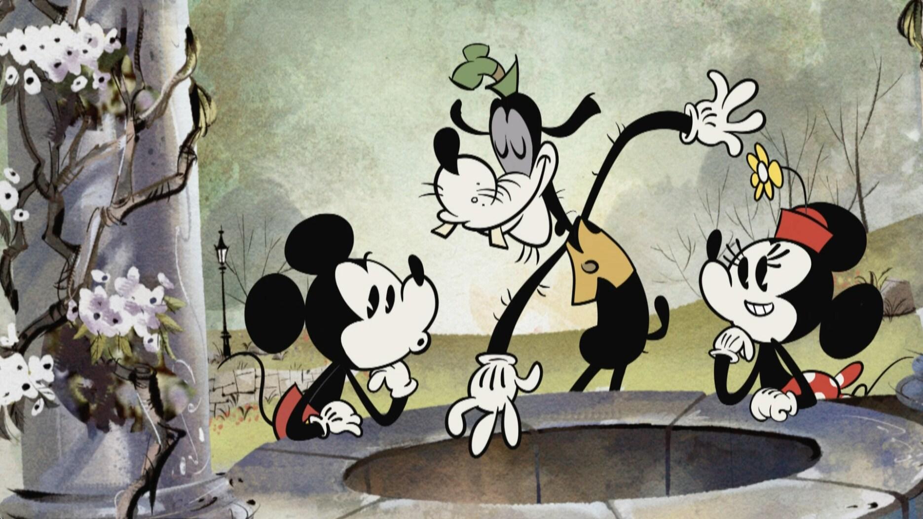 """La moneda del deseo"" - Mickey Mouse"