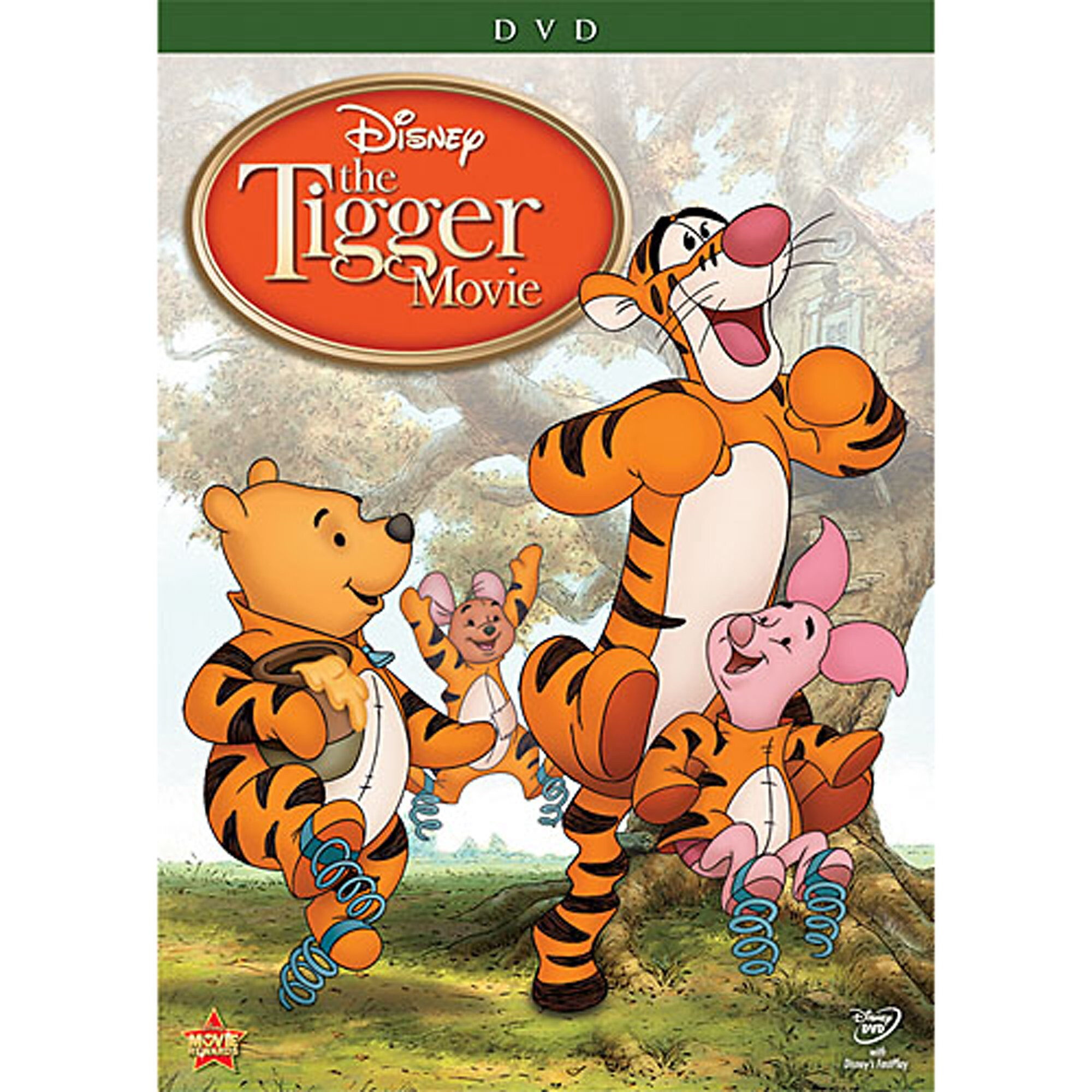 The Tigger Movie DVD