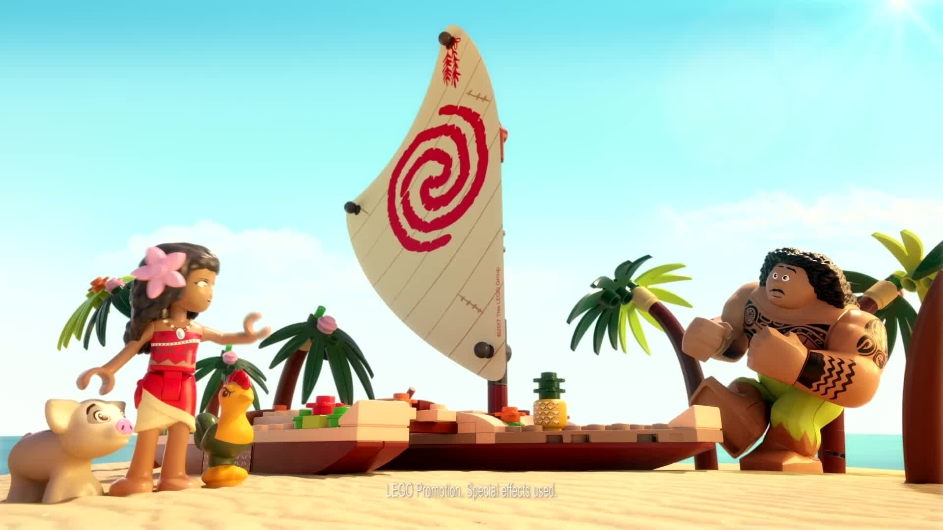 LEGO® Disney & Moana Adventure