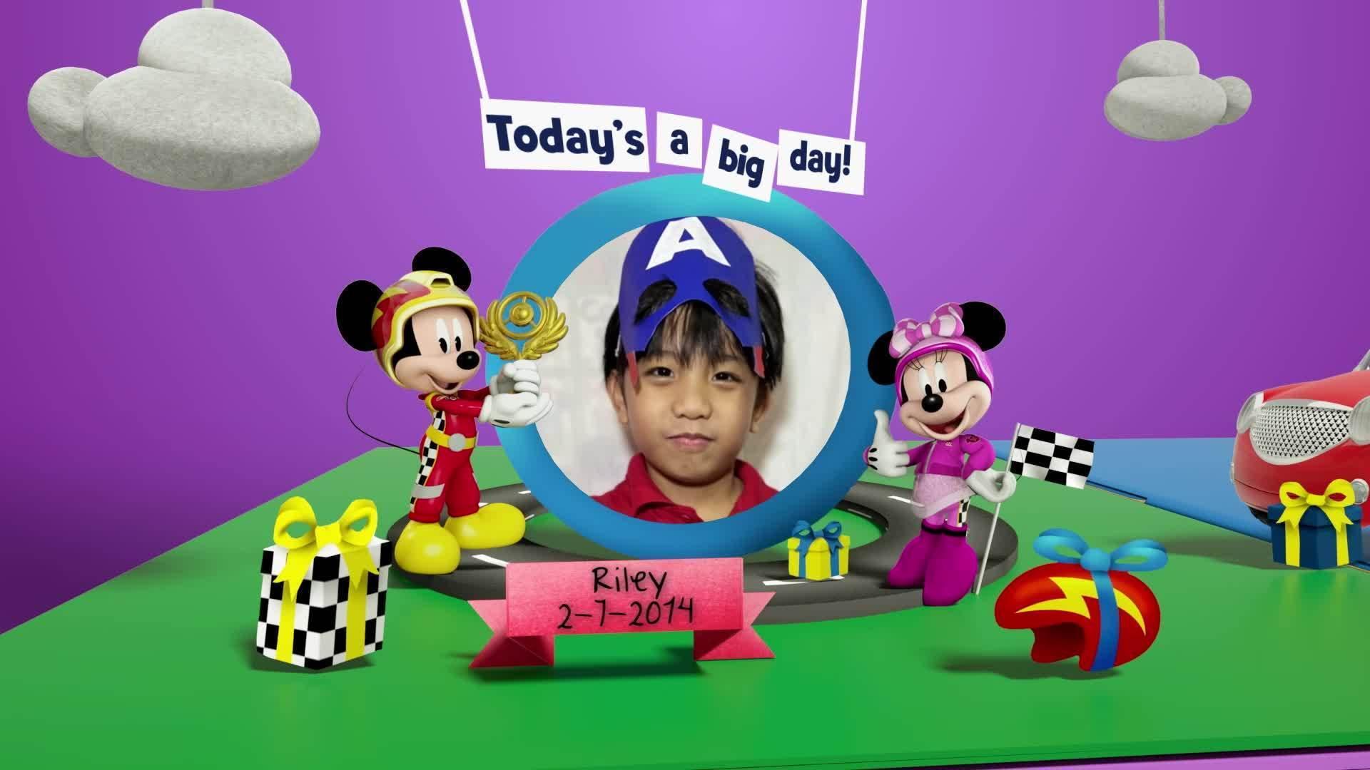 Disney Junior Birthday Book 2021 July Album 4