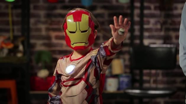 Les Enfants Extraordinaires - Tuto : Le Plastron d'Iron-Man