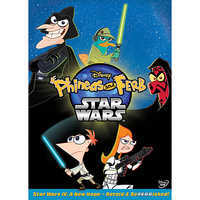 Image of Phineas and Ferb Star Wars DVD # 1