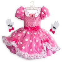 Image of Minnie Mouse Costume for Kids - Pink # 1