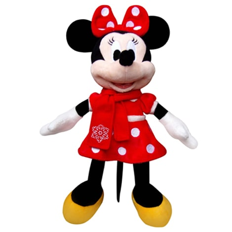 Christmas Minnie Scarf