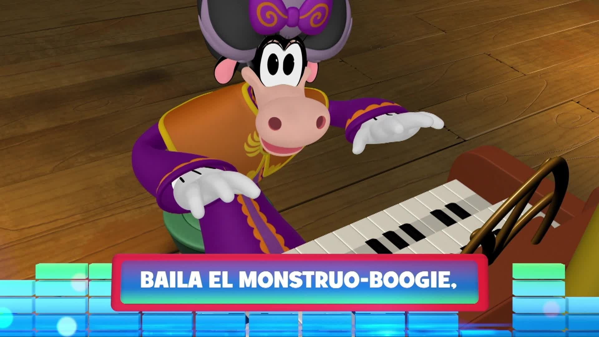 "Monstruo-boogie. De la serie: ""La casa de Mickey Mouse: La vuelta al mundo con Mikey Mouse"""