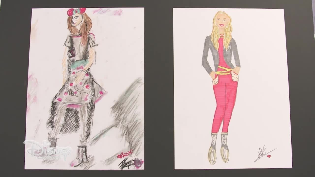 Minnie's Fashion Challenge - Fashion Illustrator