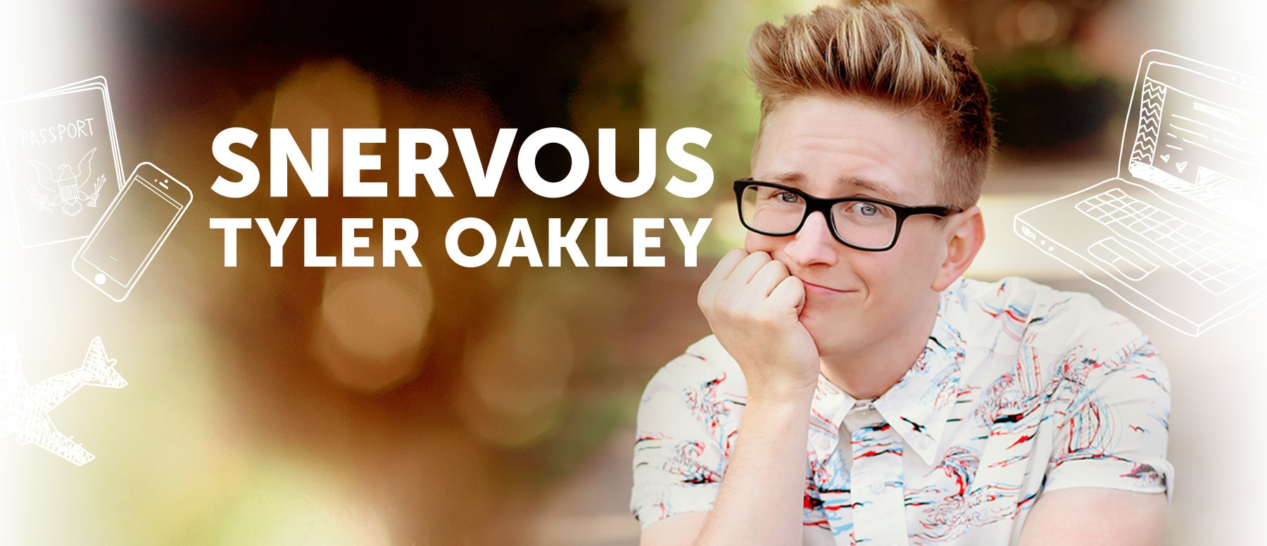Snervous Tyler Oakley Hero
