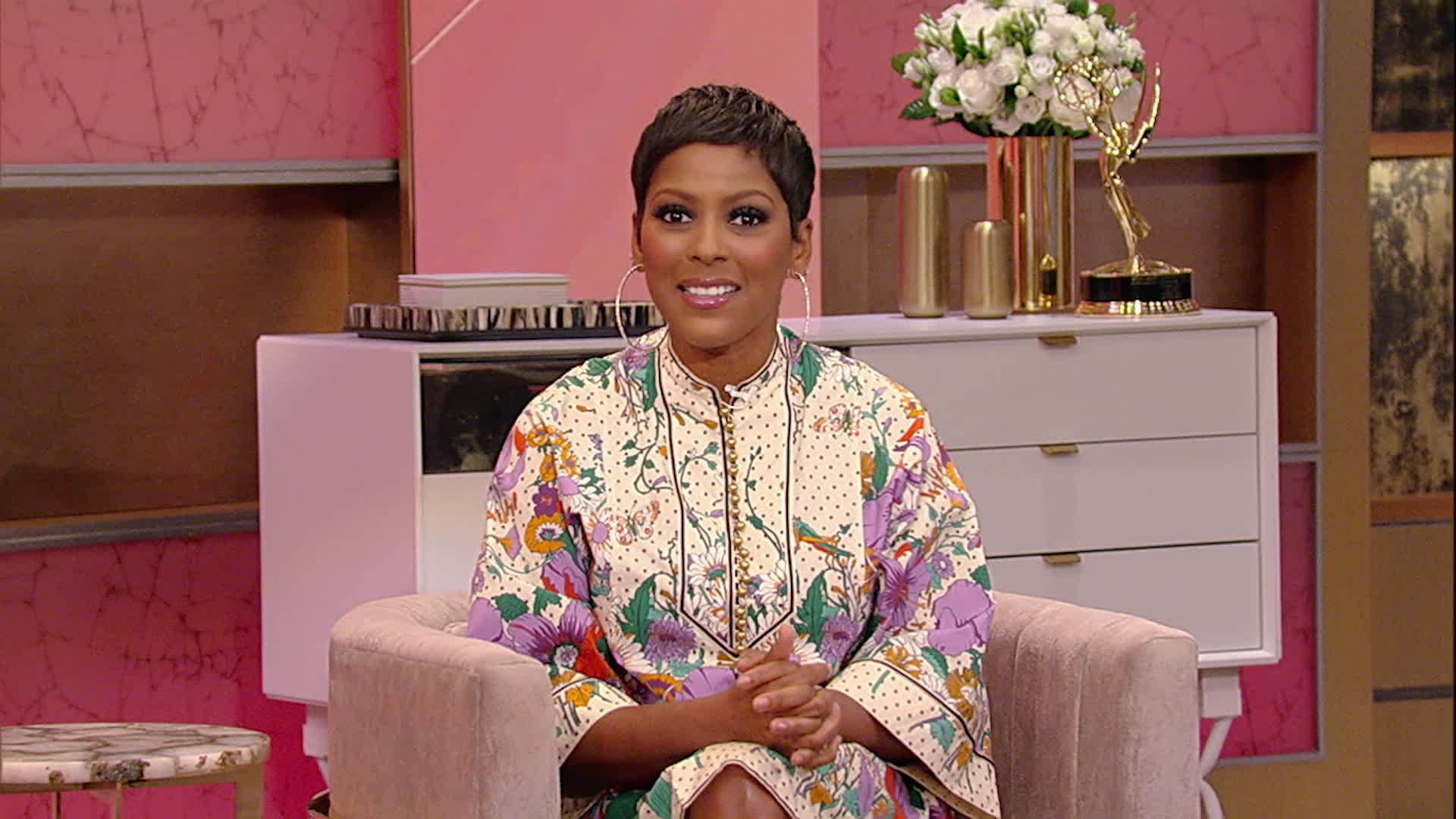 "Tamron Hall Reads from ""Tales of Courage and Kindness"""