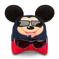 Image of Mickey Mouse Baseball Cap for Toddlers with Sunglasses # 1