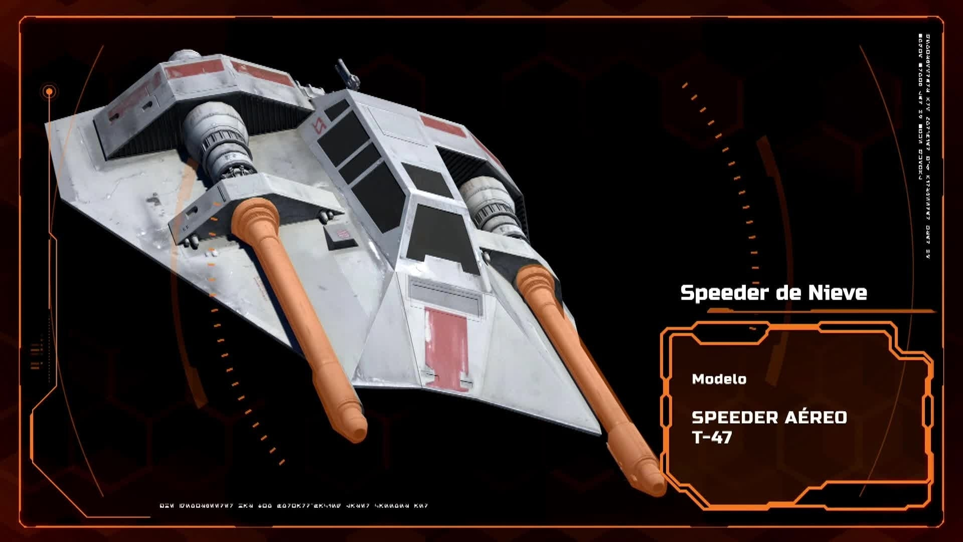 Secrets of the Rebels -SNOW SPEEDER