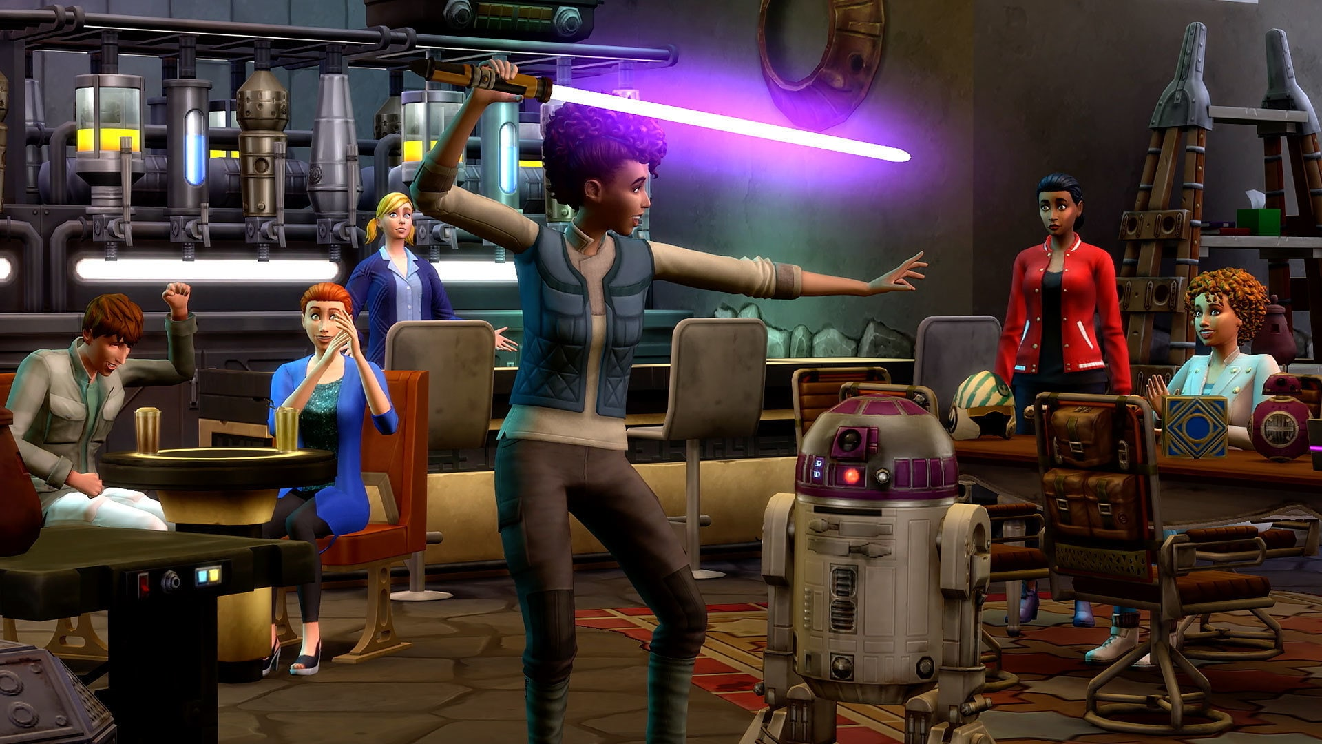Official Trailer | The Sims 4 Star Wars: Journey to Batuu