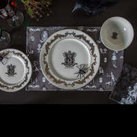 Image of The Haunted Mansion Porcelain Dinner Plate # 2