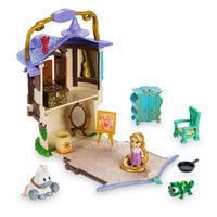 Disney Animators' Collection Littles Rapunzel Micro Doll Play Set - 2''