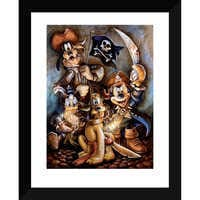Image of Mickey Mouse and Friends ''Motley Crew'' Giclée by Darren Wilson # 2
