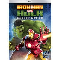Image of Iron Man and Hulk: Heroes United DVD # 1