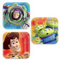 Image of Toy Story Dessert Plates # 1