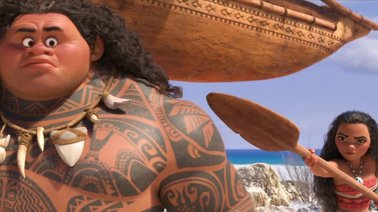 Vaiana tapaa Mauin