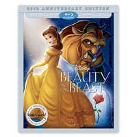 Image of Beauty and the Beast 25th Anniversary Edition Blu-ray Combo Pack # 1