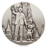 Image of Walt Disney and Mickey Mouse ''Partners'' Commemorative Medallion - Limited Edition # 2