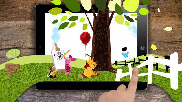 Winnie the Pooh Wonder & Wander App