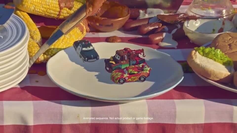 Cars Shorts: Die Cast Autos treten am Picknicktisch