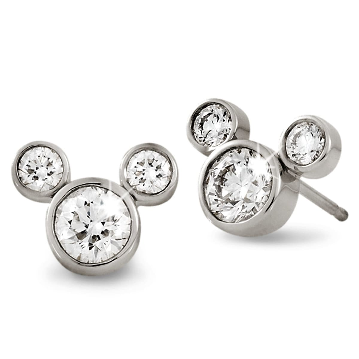 earings jewellery diamond in white forevermark gold stud earrings tw
