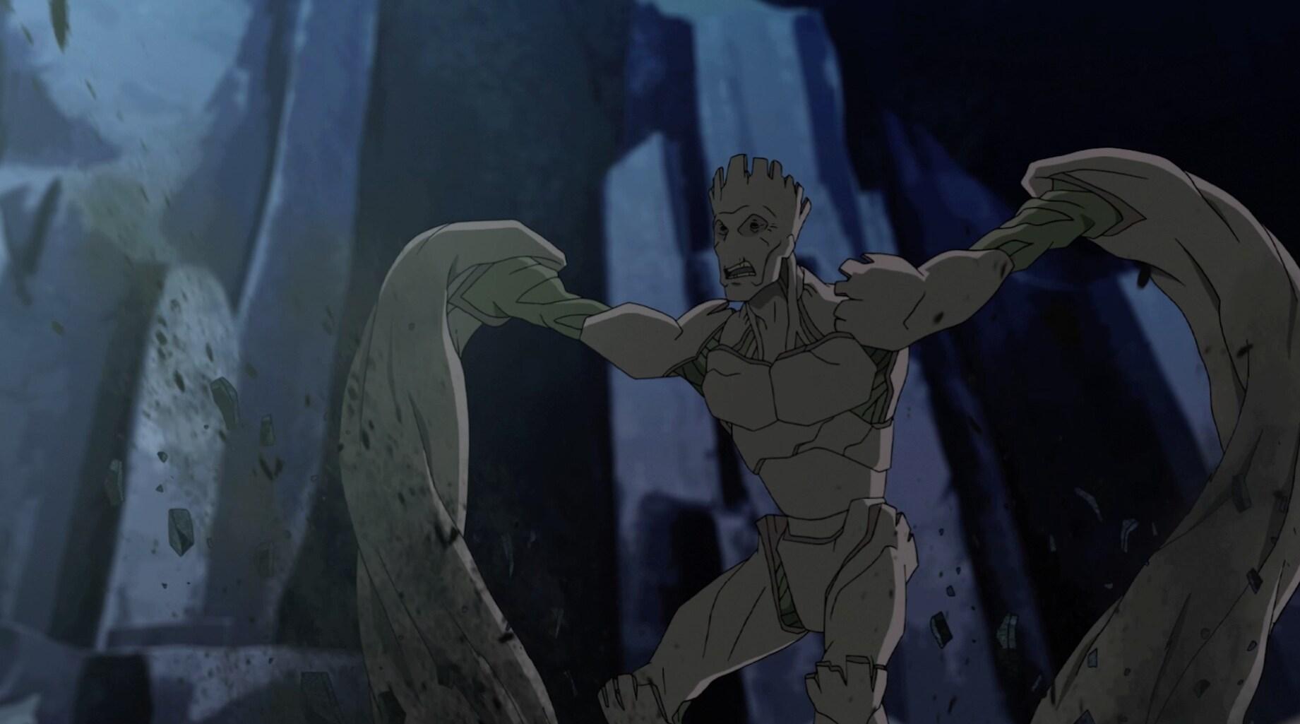 Groot - Parte 1 - Guardiões da Galáxia