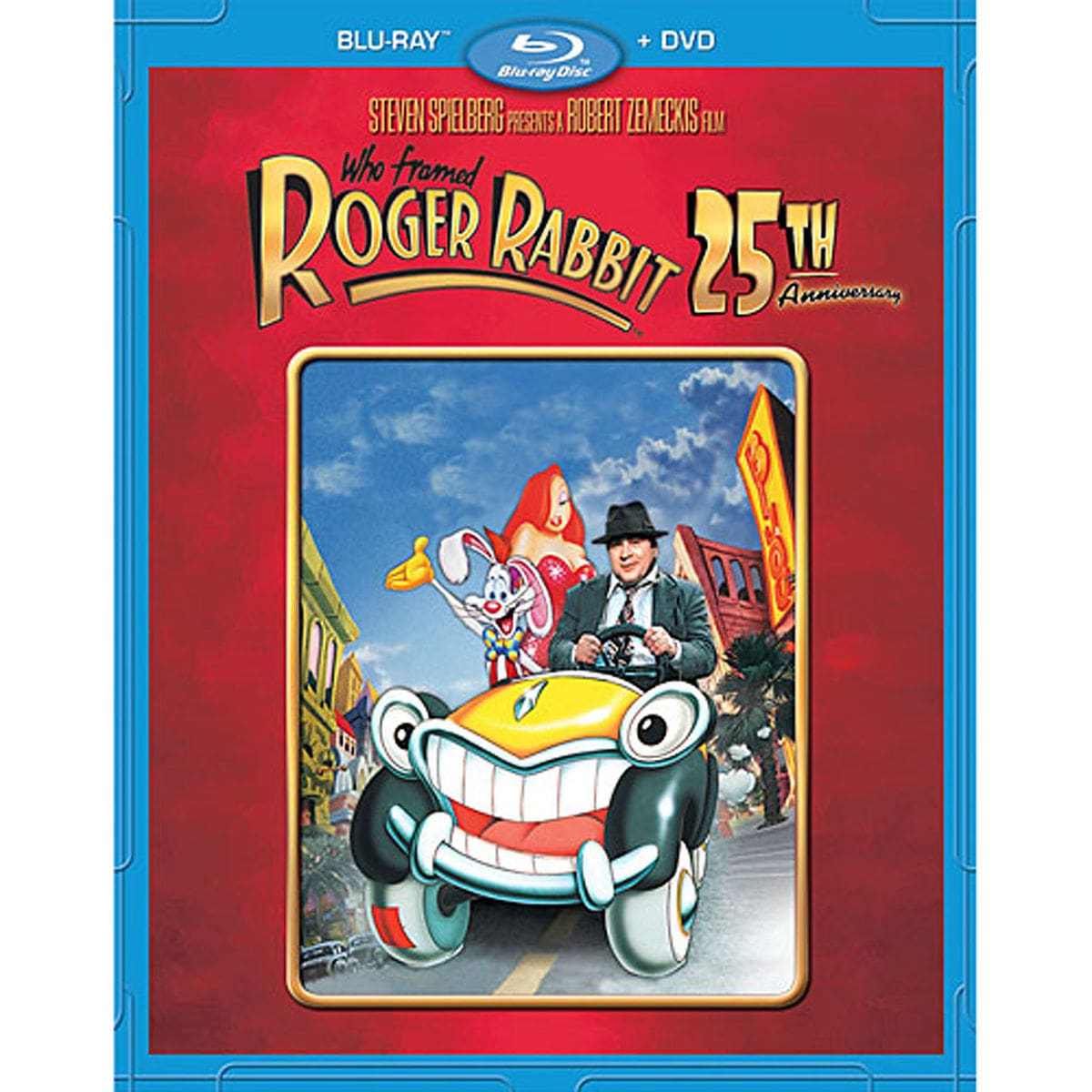 Who Framed Roger Rabbit 25th Anniversary Blu-ray and DVD Combo Pack ...