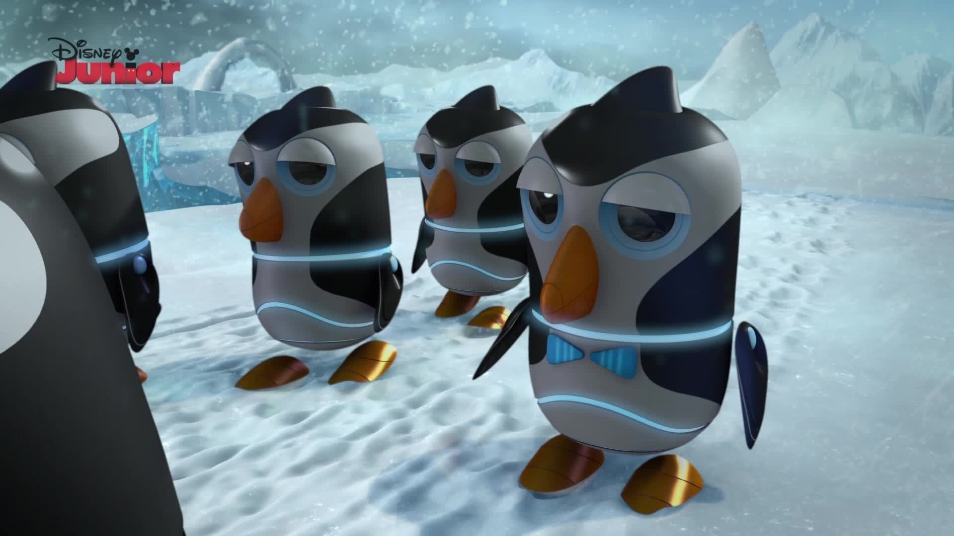 March of the Robo-Penguins