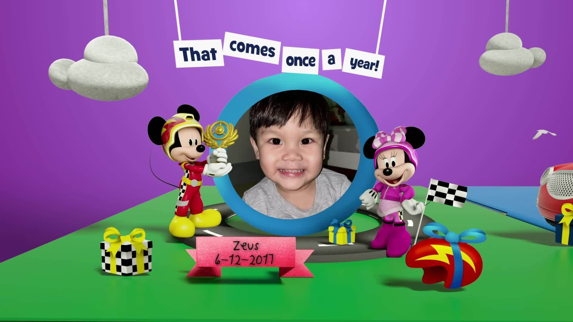 Disney Junior Birthday Book 2020 December Album 4