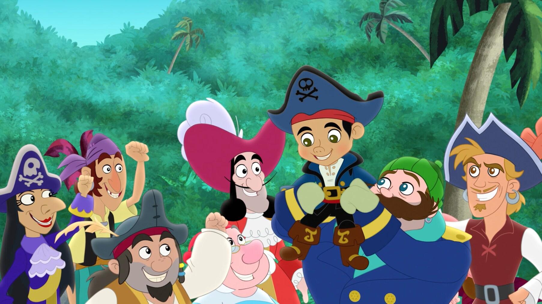 Capitão Jake e os Piratas da Terra do Nunca — A Legião dos Piratas Vilões