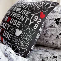 Image of Mickey Mouse 1928 Knit Pillow by Ethan Allen # 2