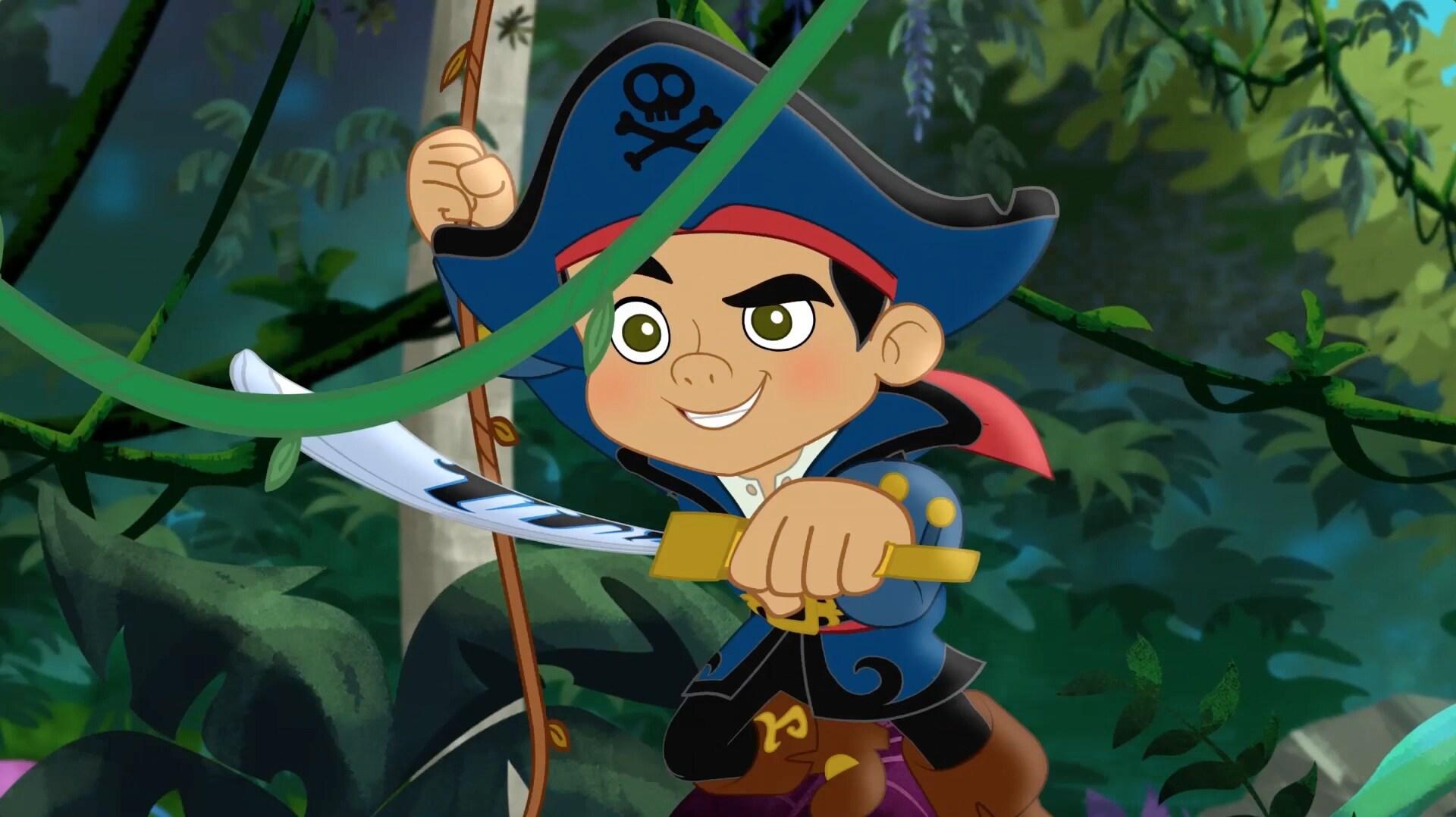 Canción de apertura - Capitán Jake y los piratas del país de Nunca Jamás – DJ Junior