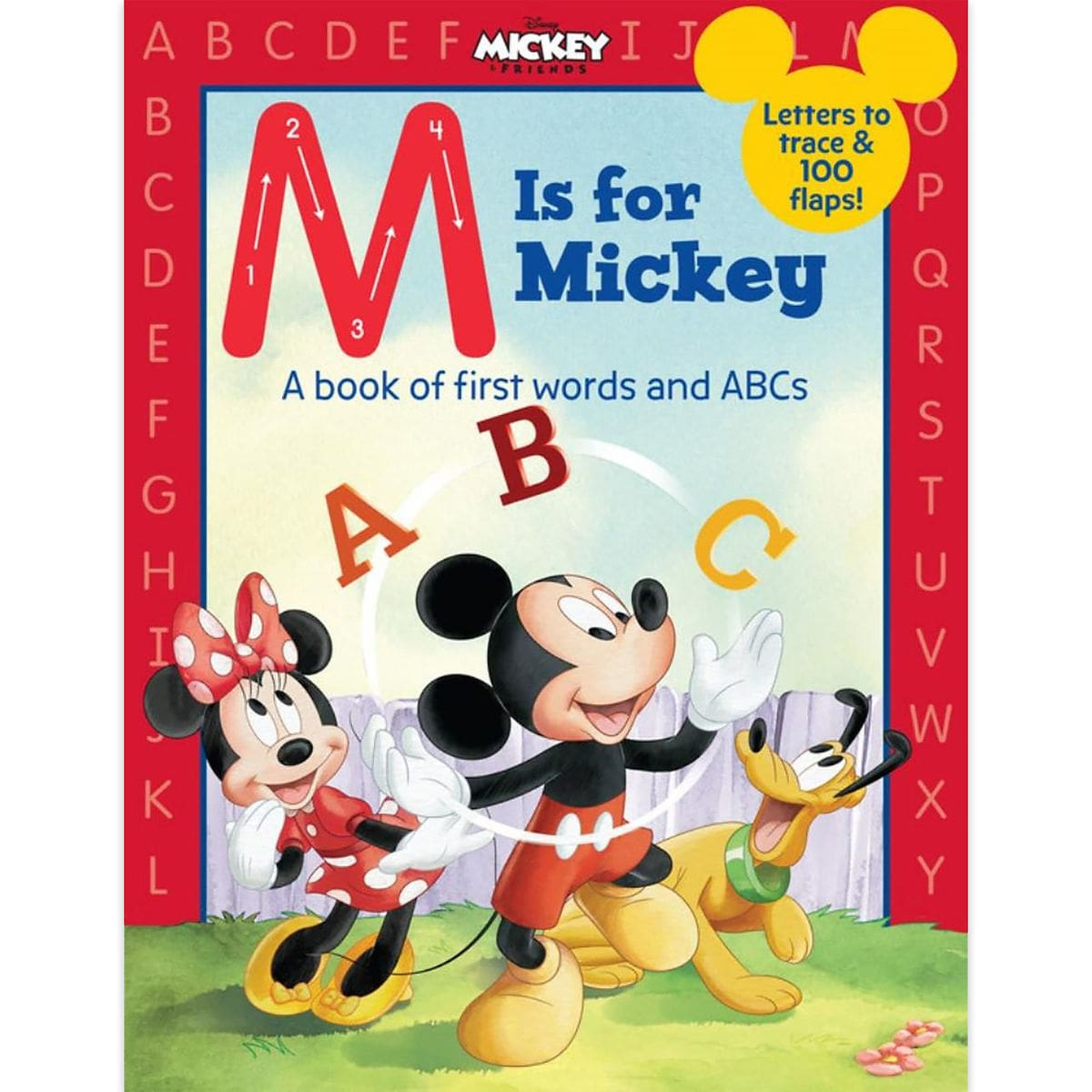 Cartoon Characters 8 Letters : M is for mickey book shopdisney
