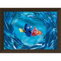Image of Finding Nemo ''The Moonfish entertain Marlin and Dory'' Giclé # 10