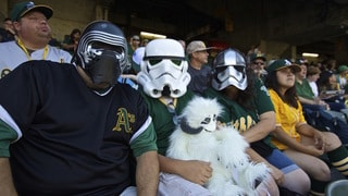 Blasters, Bounty Hunters, and Baseball: Star Wars Fireworks Night with the Oakland Athletics