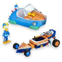 Image of Donald Duck Transforming Pullback Racer - Mickey and the Roadster Racers # 1