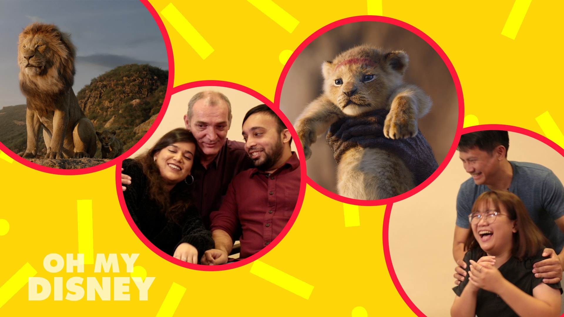 We Got Disney Staff To Chat About Their Dads (And Vice Versa!) To Celebrate The Digital Release Of Disney's The Lion King